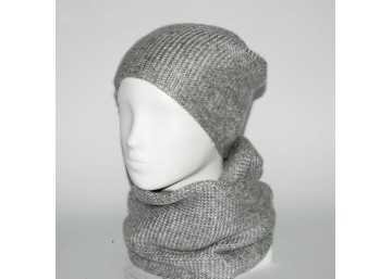 Женский комплект шапка + снуд (код 00236)
