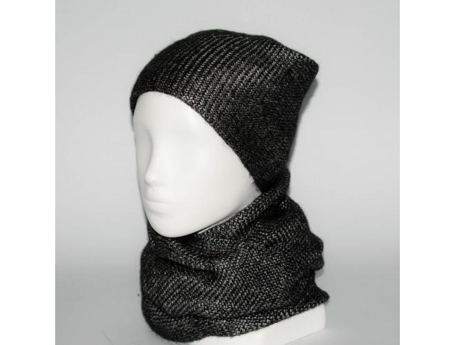 Фото Женский комплект шапка + снуд (код 00237) в интернет-магазине Romax