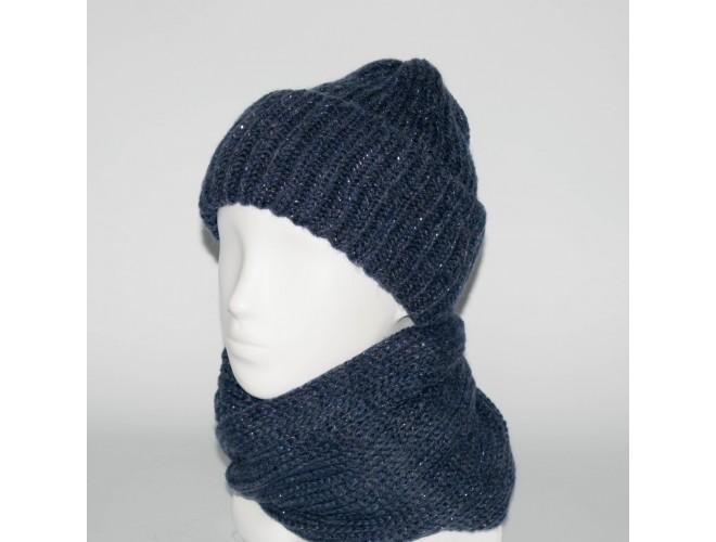 Фото Женский комплект шапка + снуд (код 00179) в интернет-магазине Romax