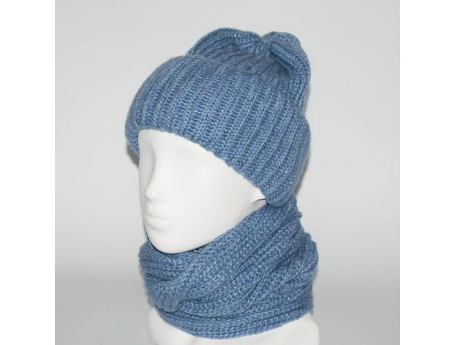 Фото Женский комплект шапка + снуд (код 00180) в интернет-магазине Romax
