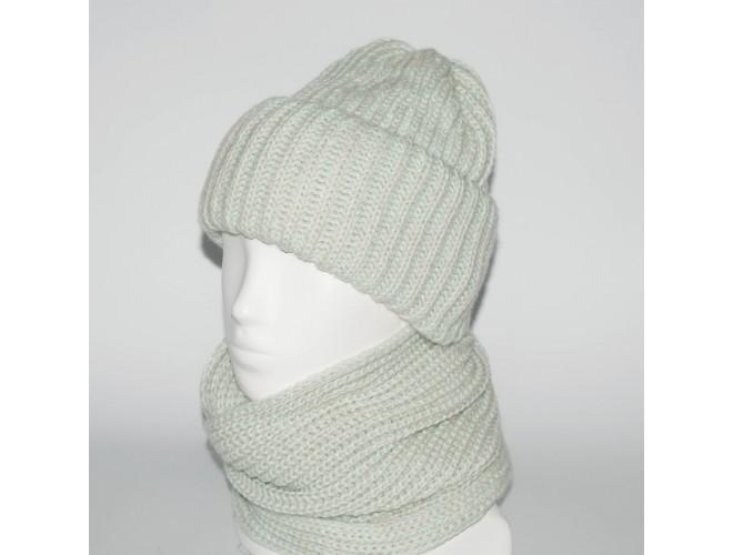 Фото Женский комплект шапка + снуд (код 00183) в интернет-магазине Romax