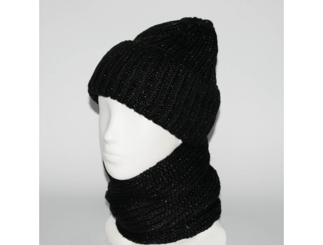 Фото Женский комплект шапка + снуд (код 00184) в интернет-магазине Romax
