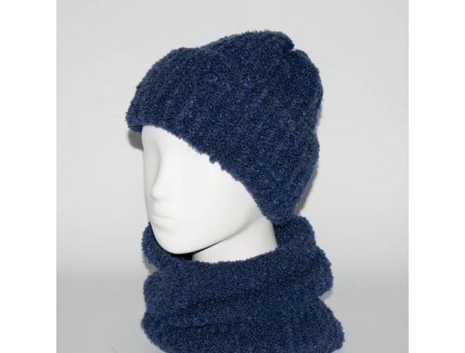 Фото Женский комплект шапка + бафф Booklet (код 00185) в интернет-магазине Romax