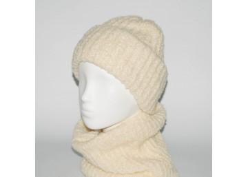 Женский комплект шапка + бафф Booklet (код 00186)