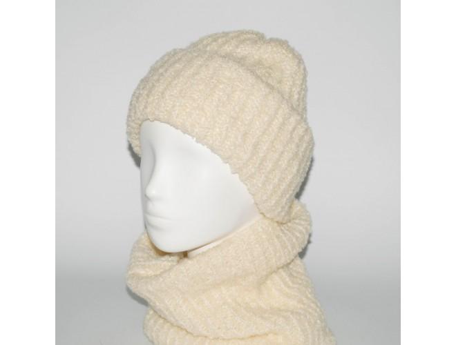 Фото Женский комплект шапка + бафф Booklet (код 00186) в интернет-магазине Romax