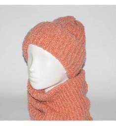 Женский комплект шапка + бафф Booklet (код 00187)
