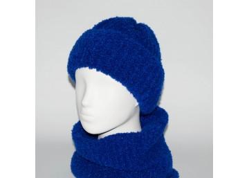 Женский комплект шапка + бафф Booklet (код 00188)