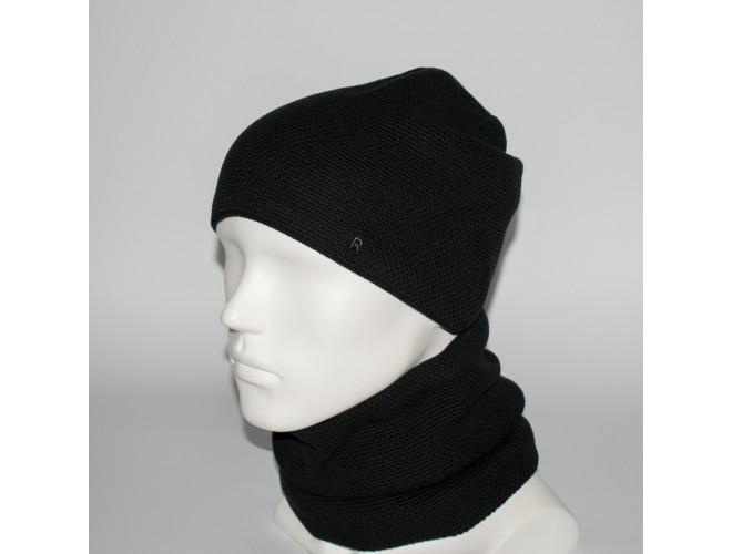 Фото Мужской комплект шапка + бафф (код 00379) в интернет-магазине Romax