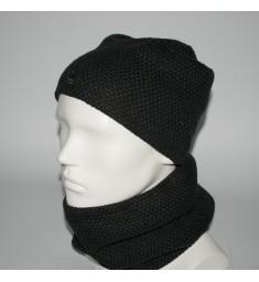 Мужской комплект шапка + бафф (код 00435)