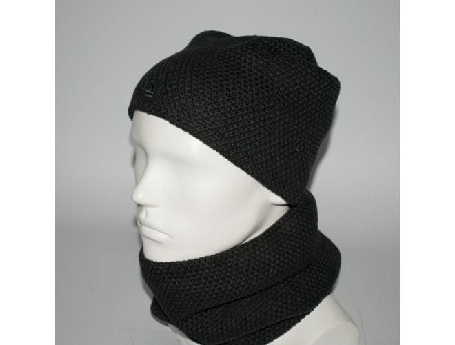 Фото Мужской комплект шапка + бафф (код 00435) в интернет-магазине Romax