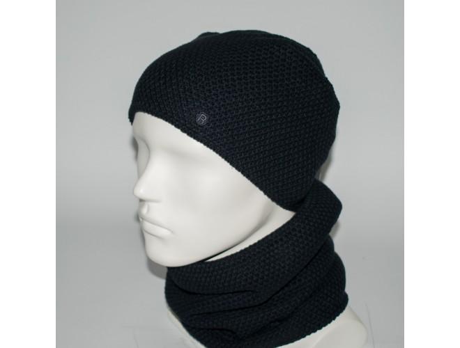Фото Мужской комплект шапка + бафф (код 00450) в интернет-магазине Romax