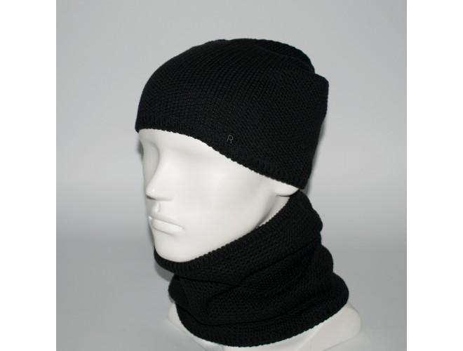 Фото Мужской комплект шапка + бафф (код 00470) в интернет-магазине Romax